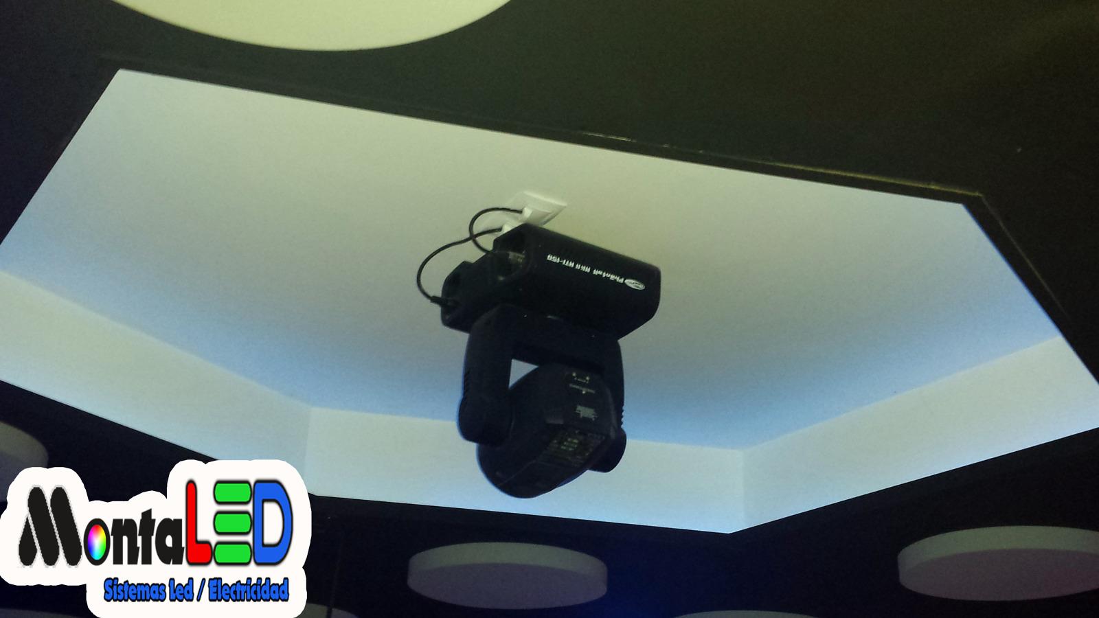 Instalación iluminación profesional