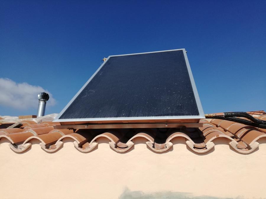 Instalación kit  solar