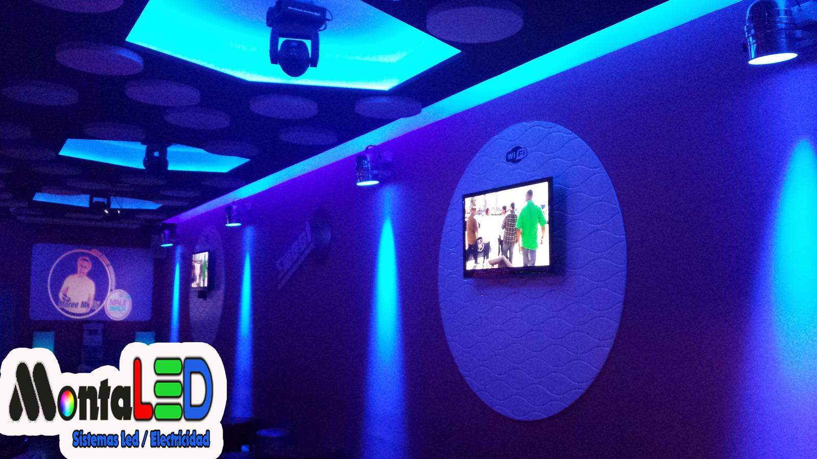 Foto instalaci n led bar de copas de montaled 439425 - Iluminacion de bares ...