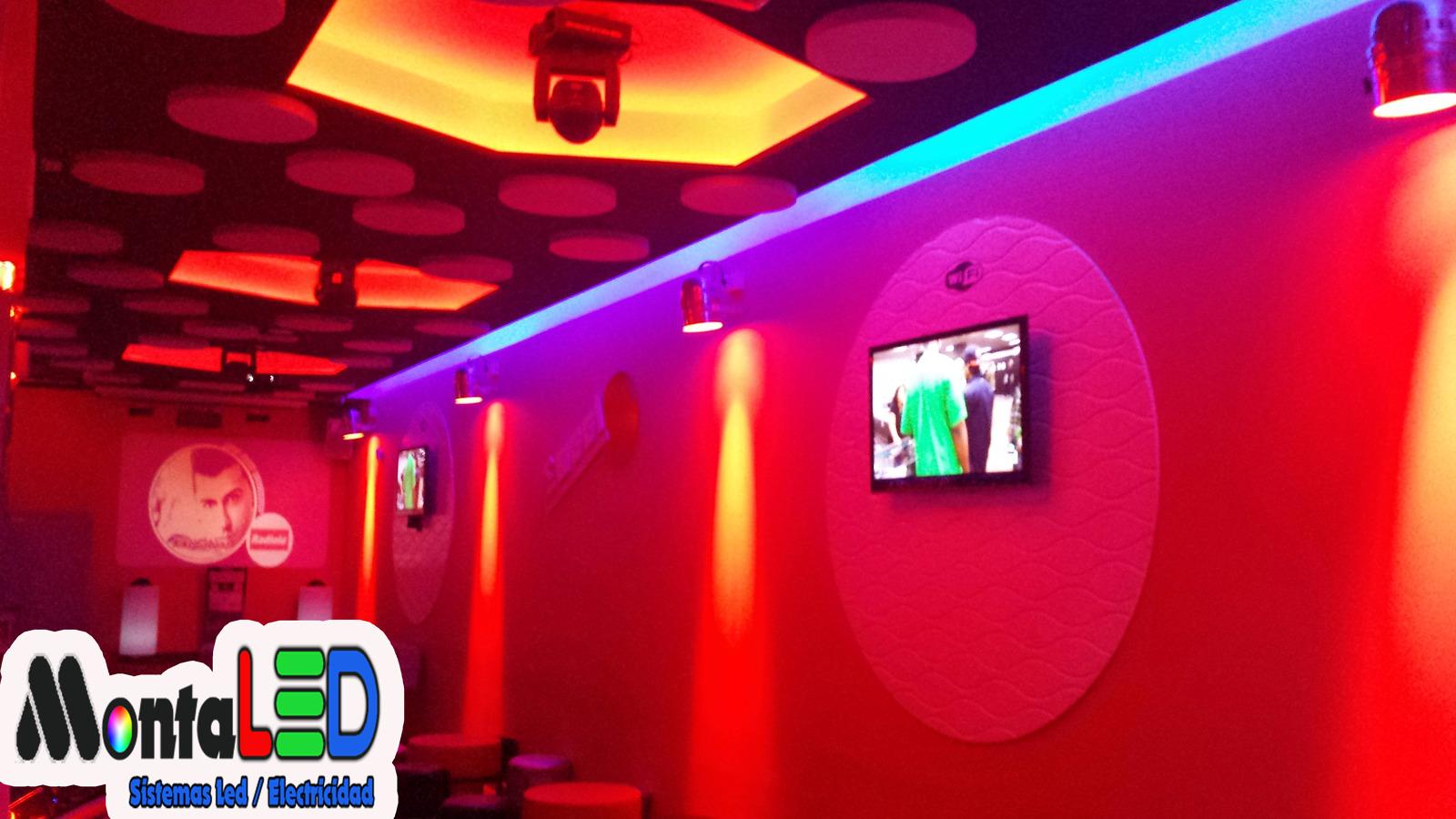 Foto instalaci n led bar de copas de montaled 439427 - Decoracion de bares de copas ...