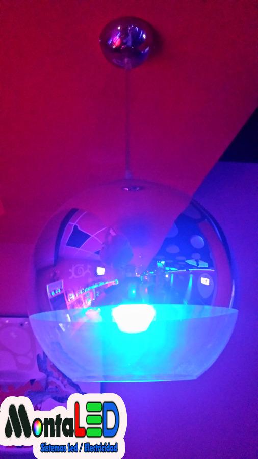 Instalación Luminarias Led colgadas
