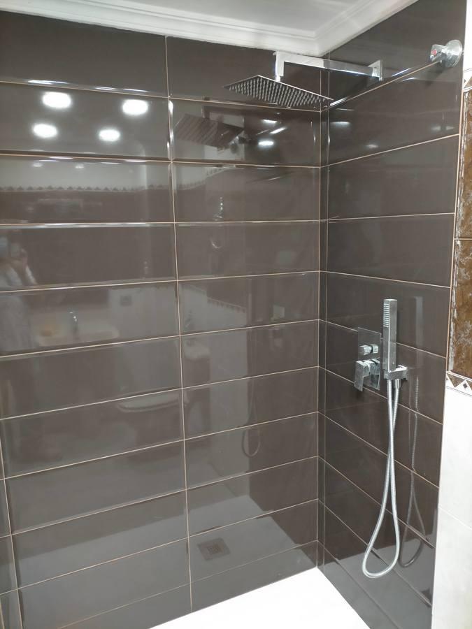 instalacion nueva de ducha empotrada