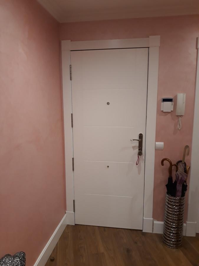 Instalacion panel puerta entrada