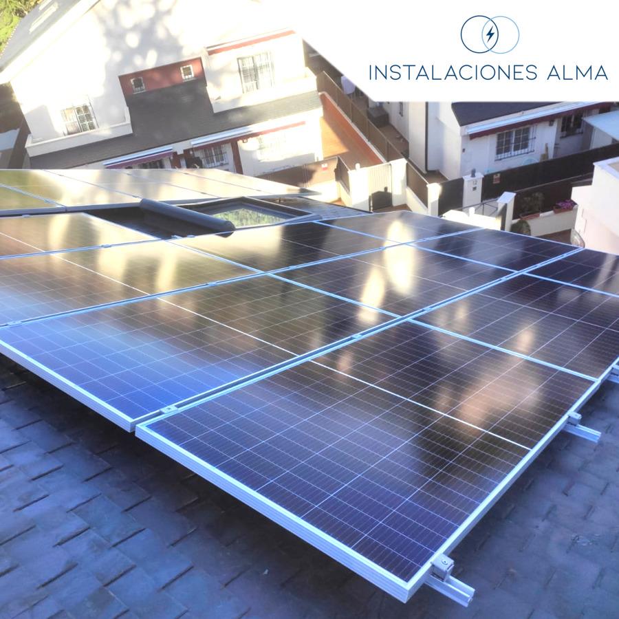 Instalación solar en Collado Villalba