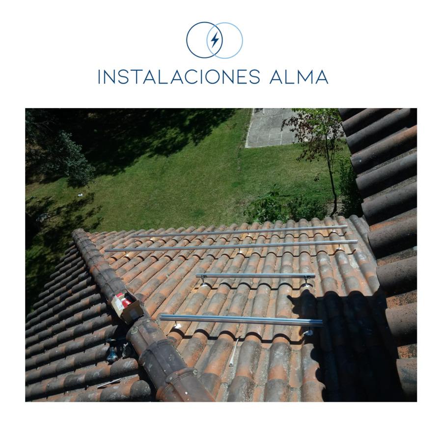Instalación solar en Galapagar