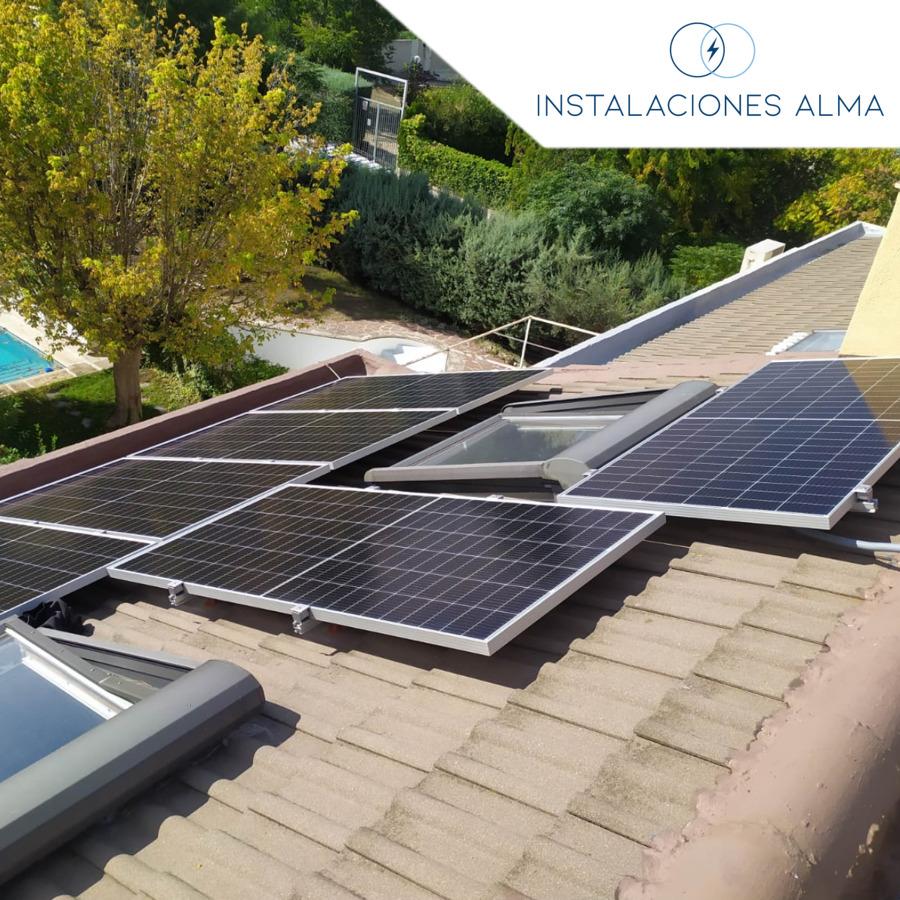 Instalación solar en Rivas