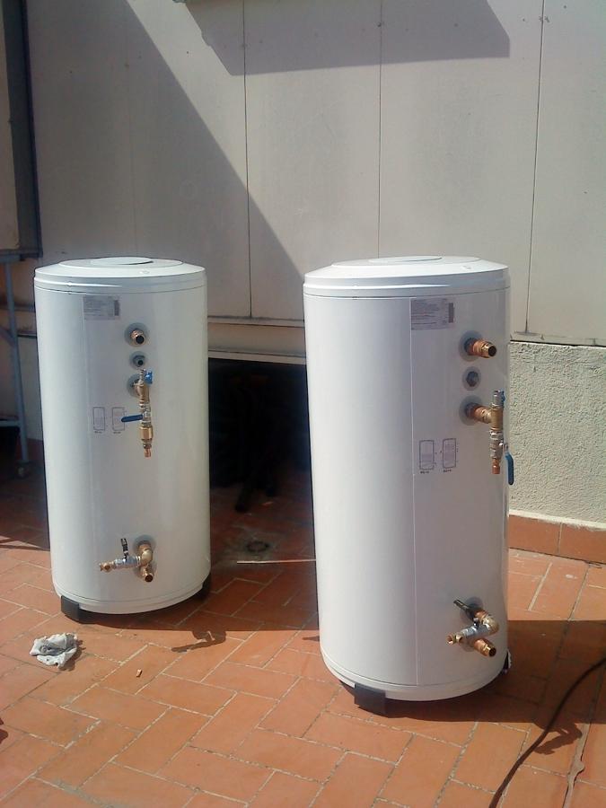 Instalación solar térmica para ACS en un edificio público