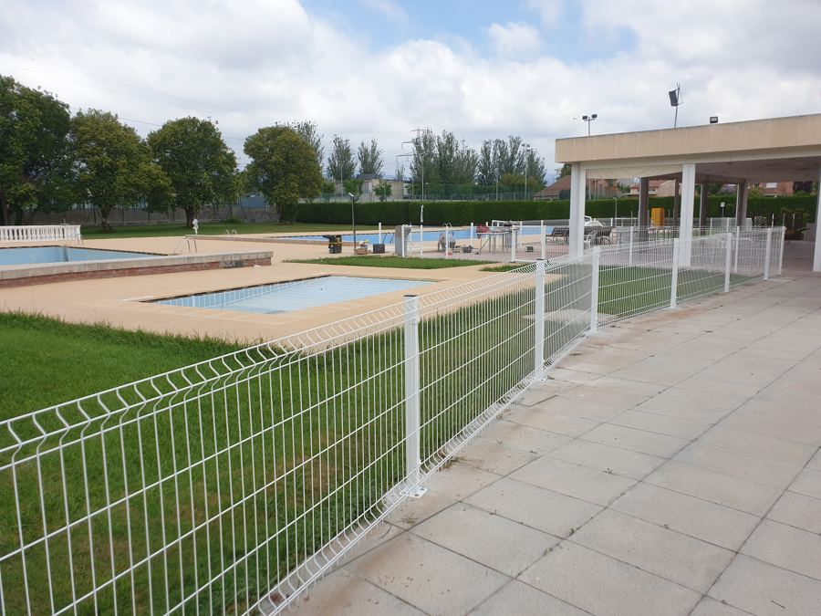 Instalación valla piscina