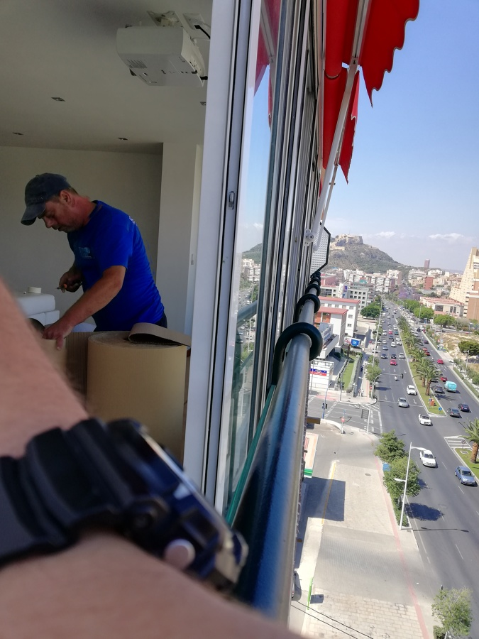 Instalación ventanas Pvc