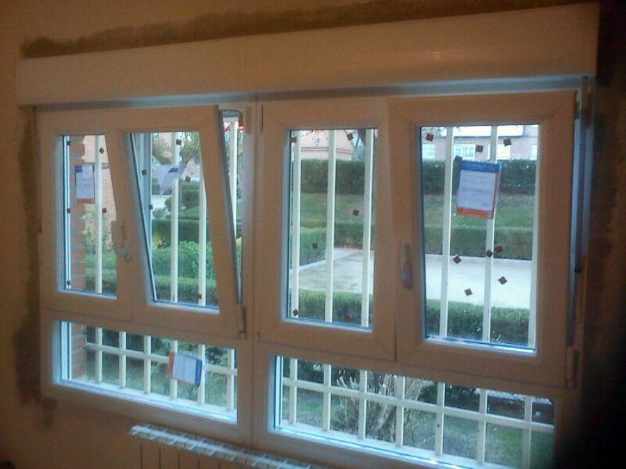 Foto instalacion ventanas pvc de jrg aluminios 447345 habitissimo - Precio cristal climalit ...