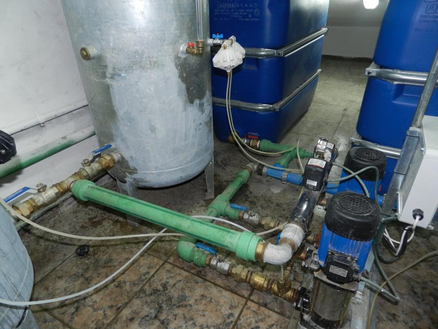 Instalaciones de fontanería comunitarias