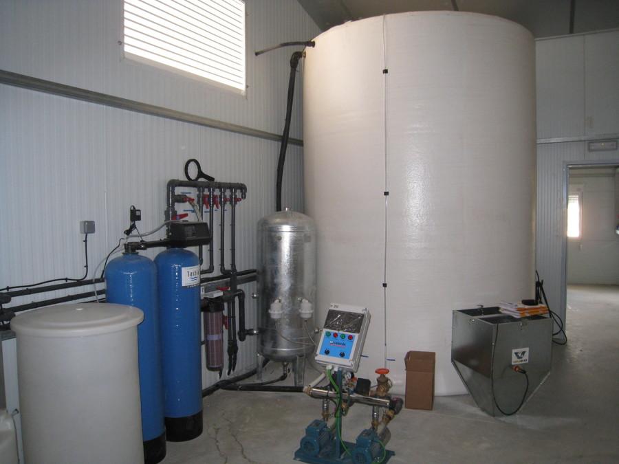 Instalaciones tratamiento de aguas y medicación