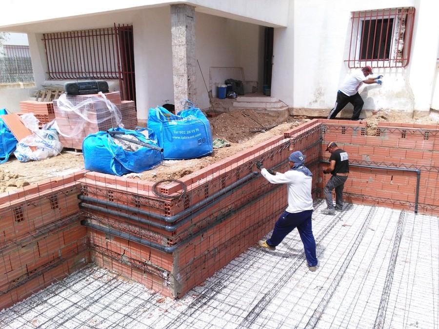 Instalando la fontanería