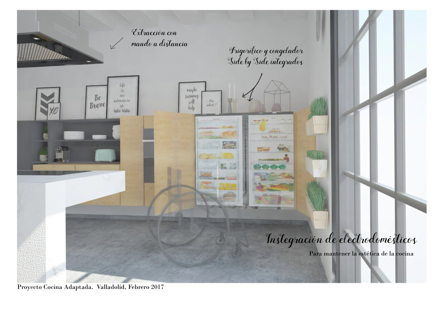 Integración de electrodomésticos