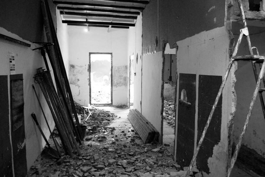Interior anterior a la reforma
