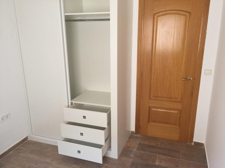 Interior armario corredero