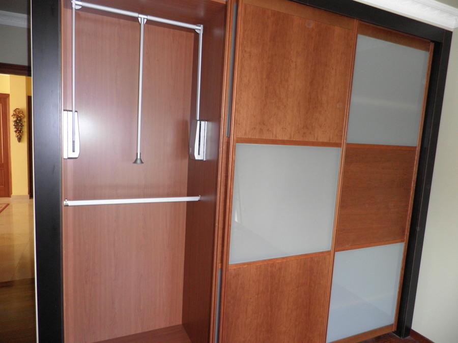 Interior armario estilo clásico
