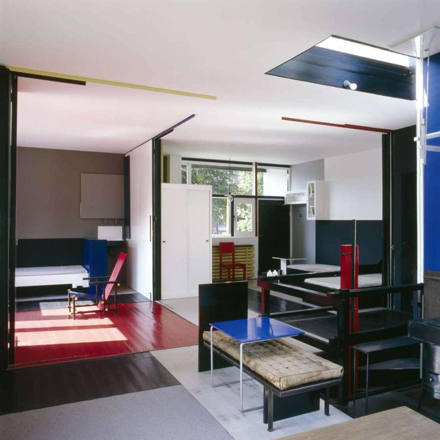 Interior casa Schröder