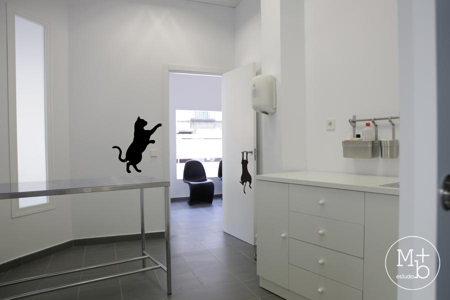 foto interior consulta cl nica veterinaria de m b estudio