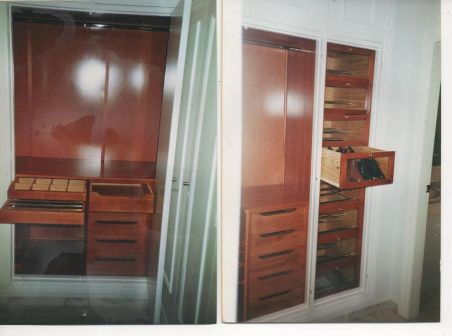 Interior de armario ideas carpinteros for Ideas interior armario