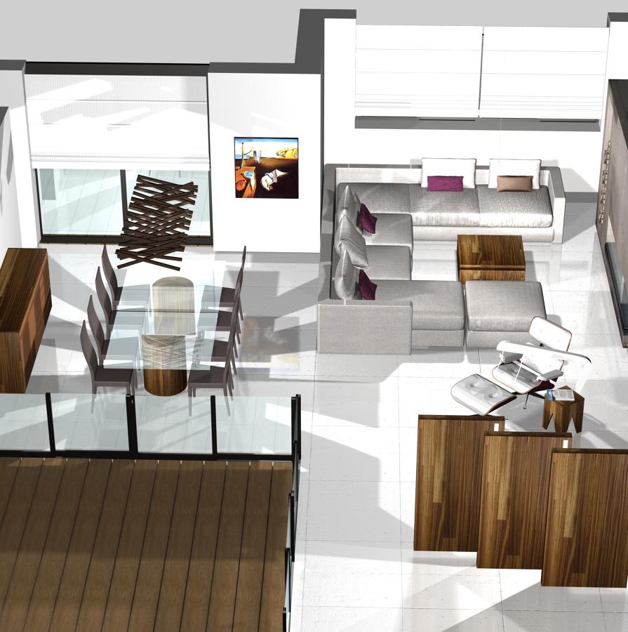 Vivienda unifamiliar con piscina ideas arquitectos for Vivienda interior