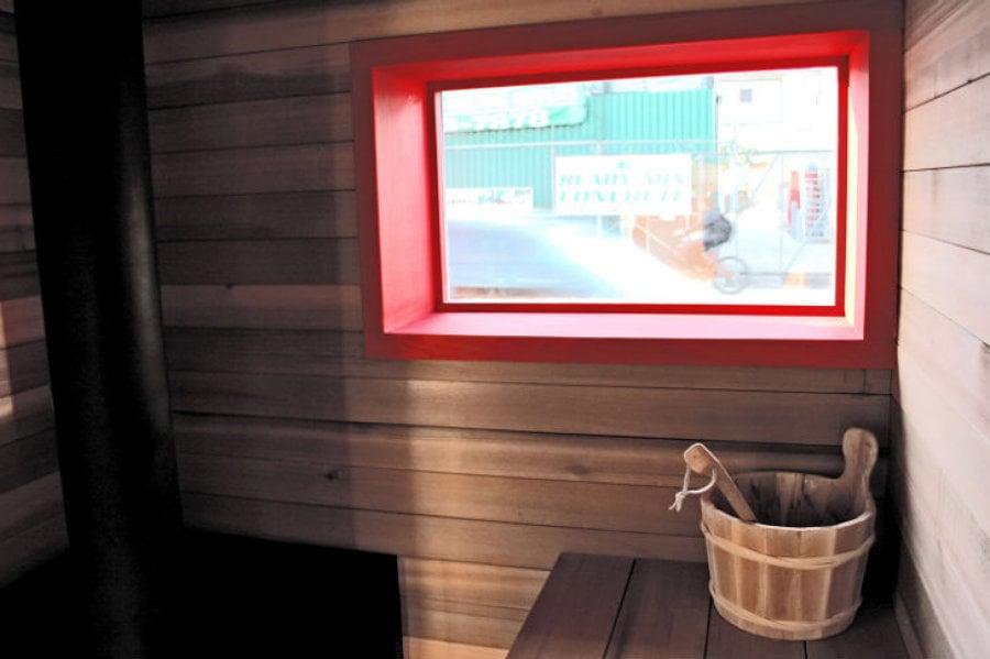 15 spas nicos para relajarte este invierno ideas - Construir una sauna ...