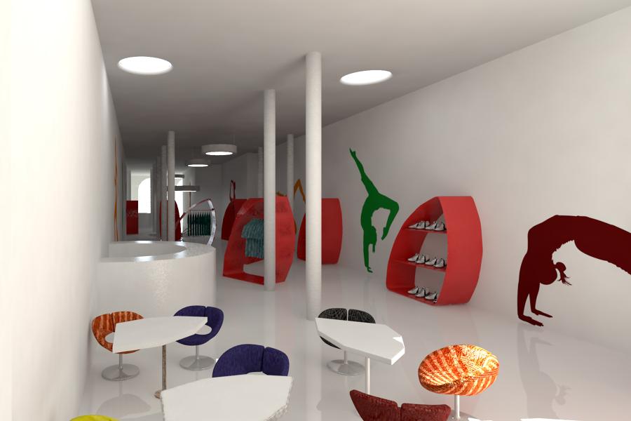 Dise o del gimnasio haka gym ideas arquitectos - Decoracion de gimnasios ...