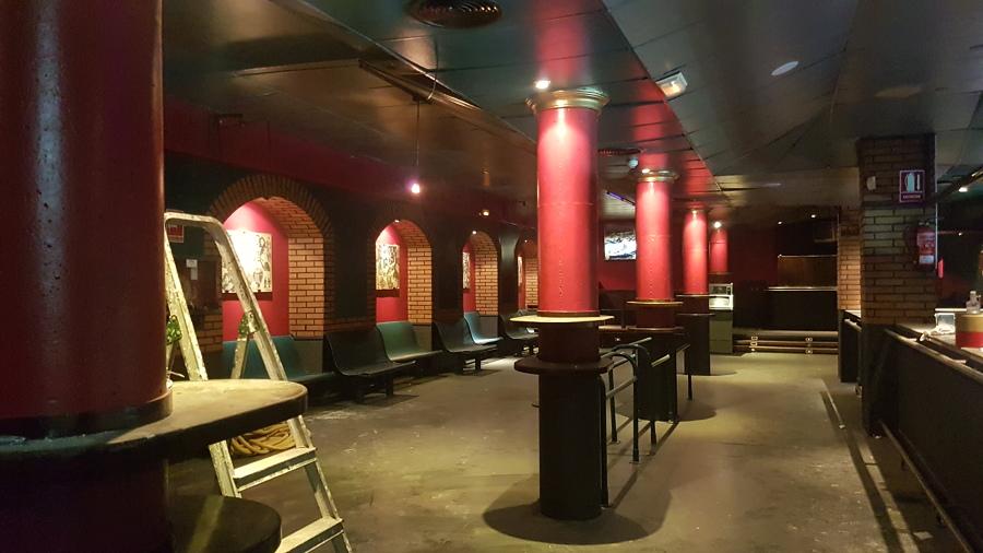 Interior del local anterior a obra