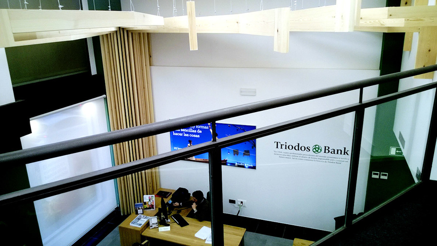 Interior oficina 2 - Triodos Bank