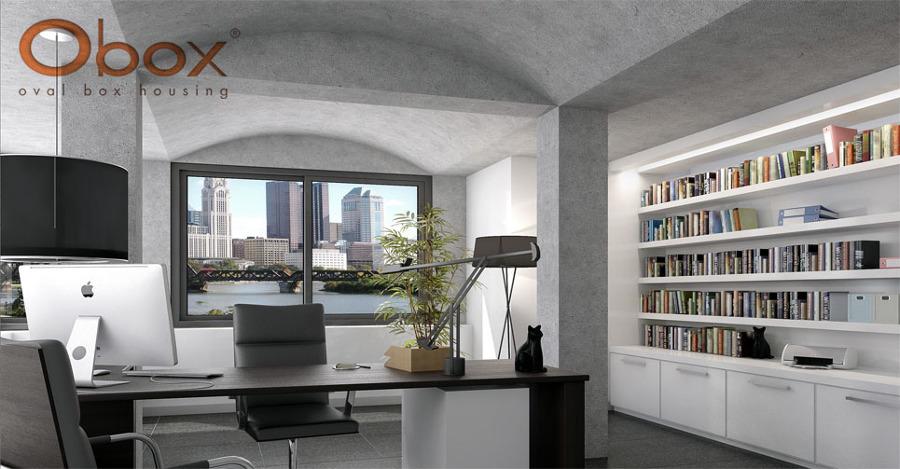 Interior Oficina Obox.