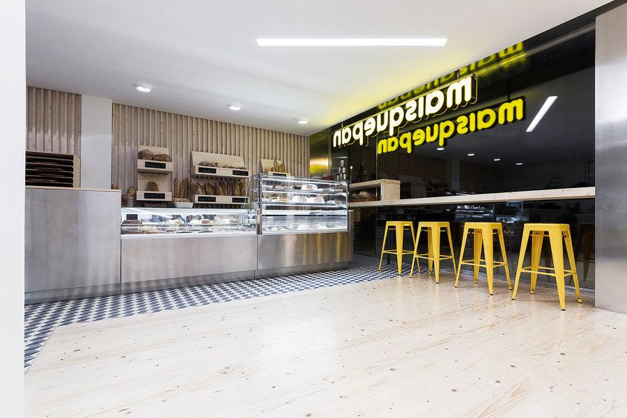 Interior panadería