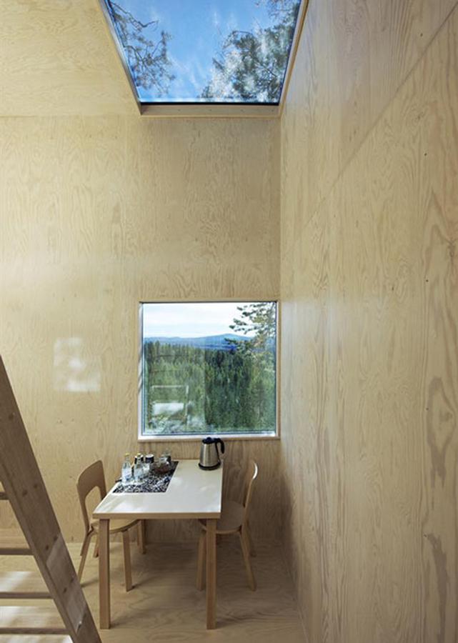 interior treehotel
