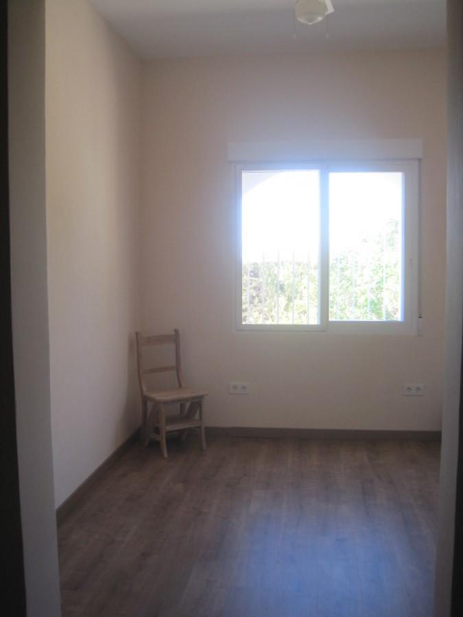 Interior vivienda. Dormitorio