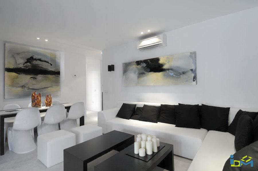 Interior vivienda modulada