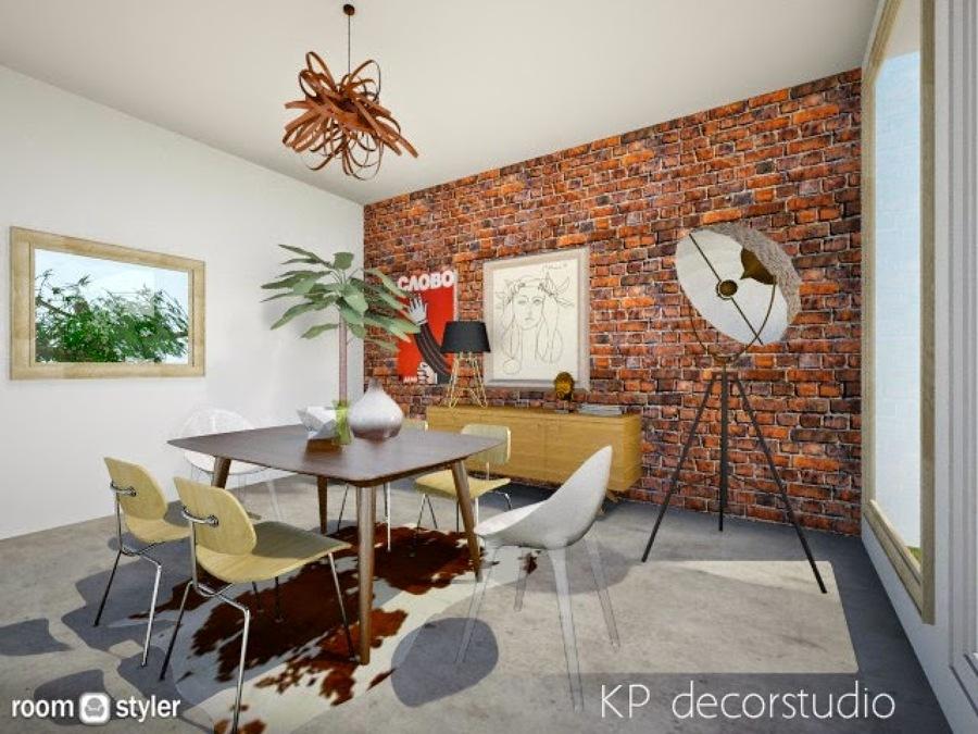 Foto: Interiorismo Salon Vintage Industrial de Kpdecorstudio #682569 ...