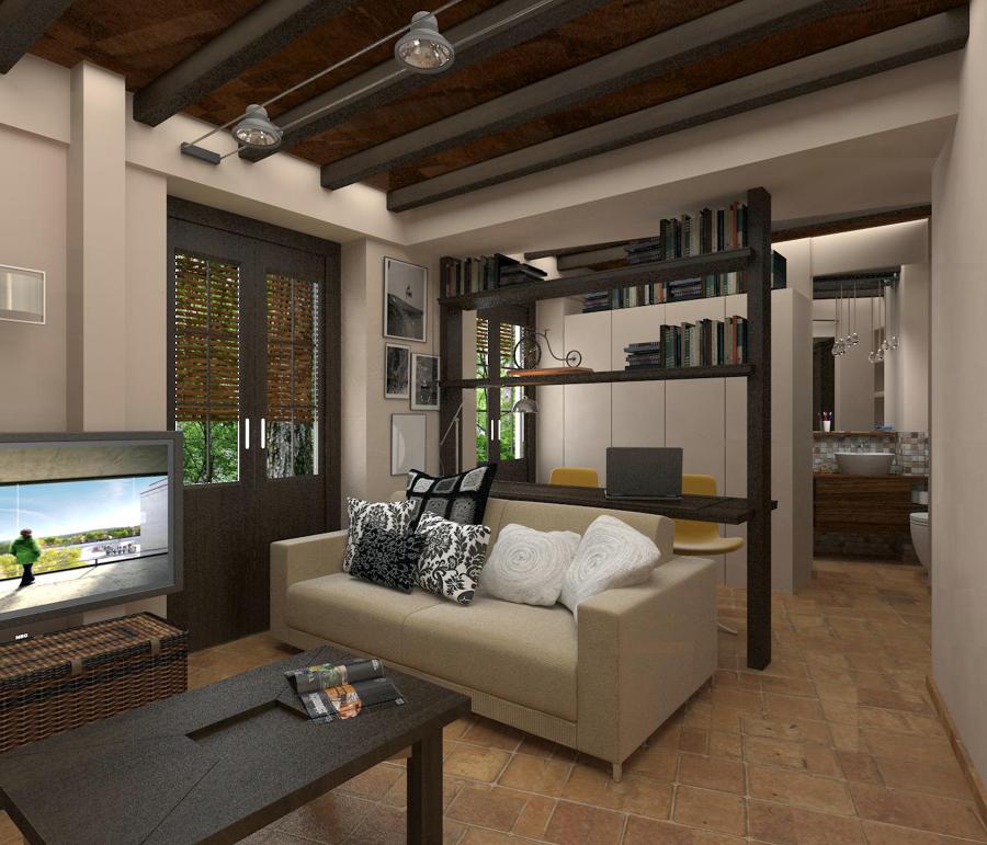Reforma de apartamento en el casco antiguo de granada - Interiorismo granada ...