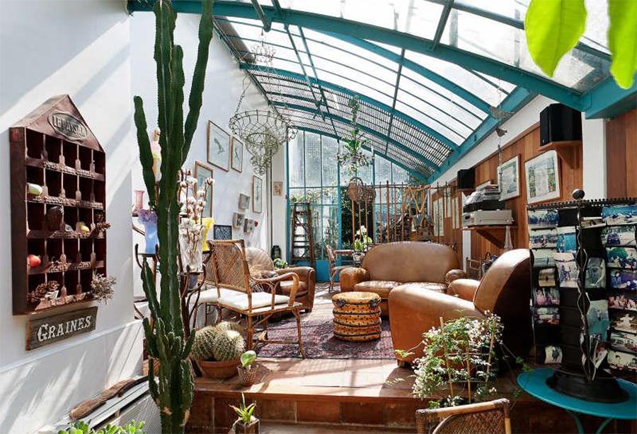 Construye un invernadero en casa sin renunciar al dise o - Invernaderos de terraza ...