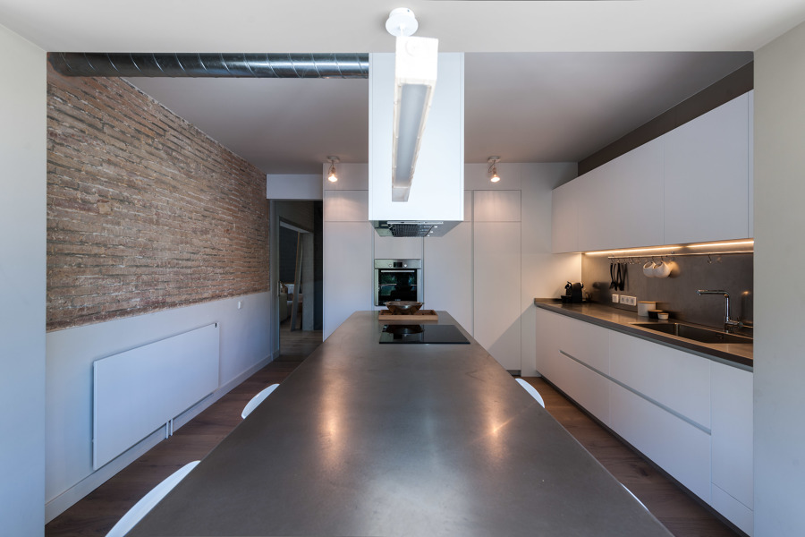 Isla cocina | Proyecto Francesc Carbonell