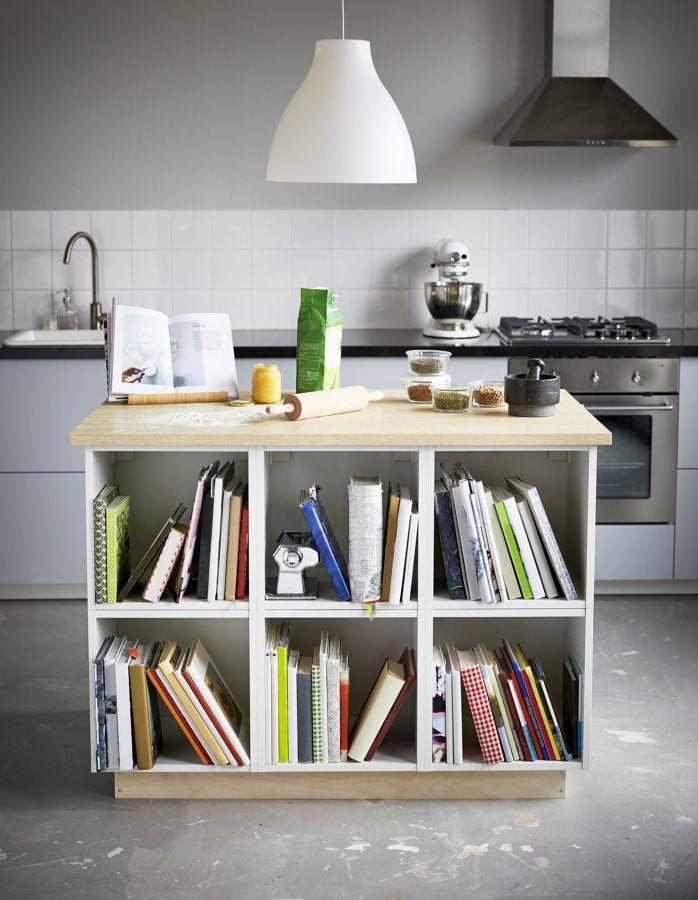 Isla de cocina de IKEA