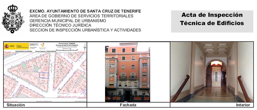 ITE de edificio de 12 viviendas sito en la calle La Tolerancia 5