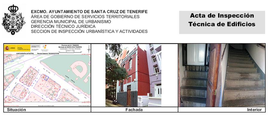 ITE de edificio de 2 viviendas sito en la calle San Isidro 9