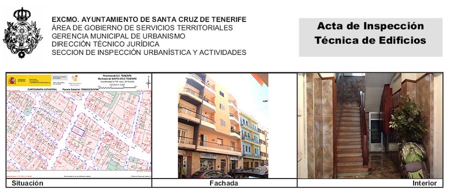 ITE de edificio de 8 viviendas y local comercial sito en la calle La Rosa 26