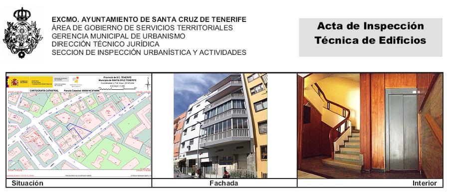 ITE de edificio de 9 viviendas y 2 locales sito en la calle Enrique Wolfson 17