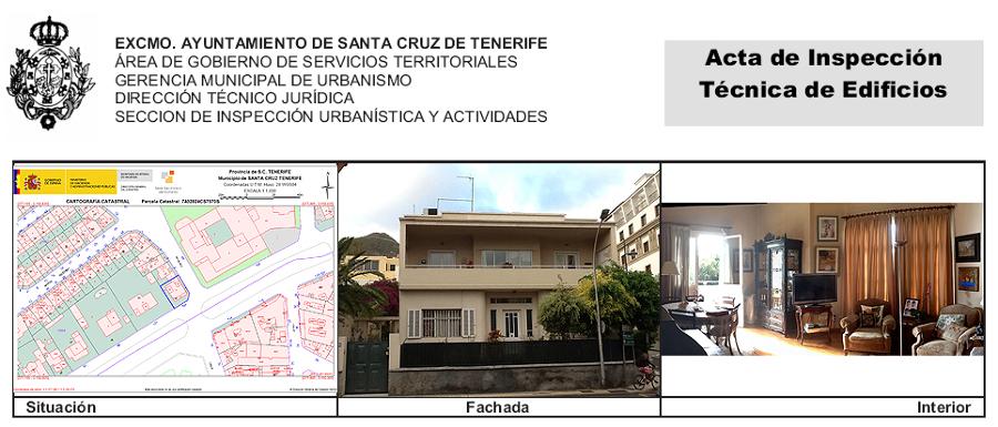 ITE de edificio de dos viviendas y local en Rambla de Santa Cruz 103