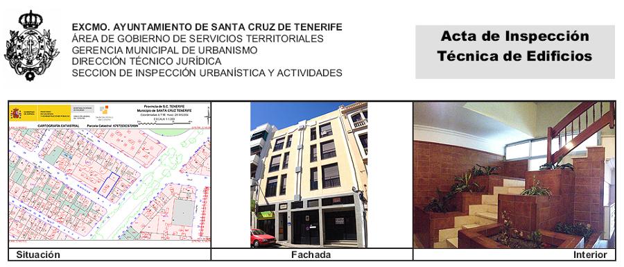 ITE de edificio de viviendas, locales comerciales y garajes sito en calle de los Sueños 4