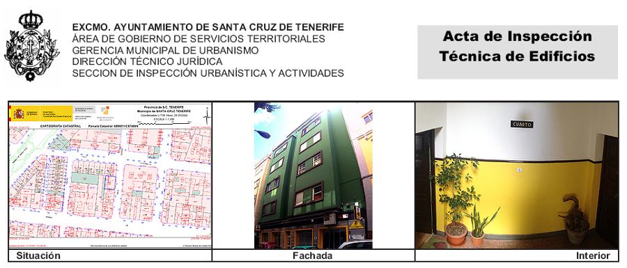 ITE de edificio de viviendas y local comercial sito en Anselmo J Benítez 5