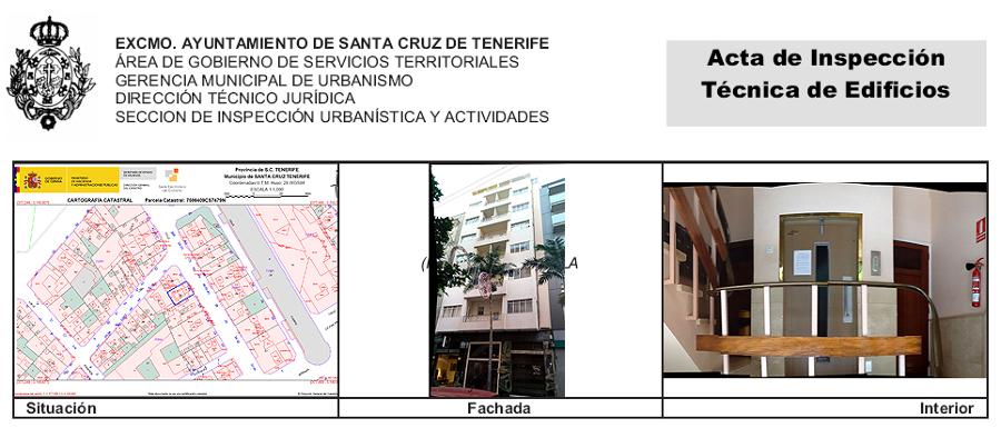 ITE de edificio de viviendas y locales comerciales sito en El Pilar 29