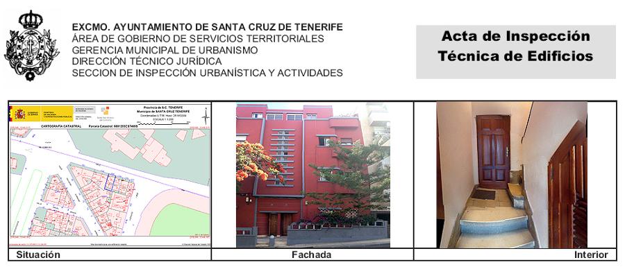 ITE de edificio residencial sito en Suárez Guerra 117
