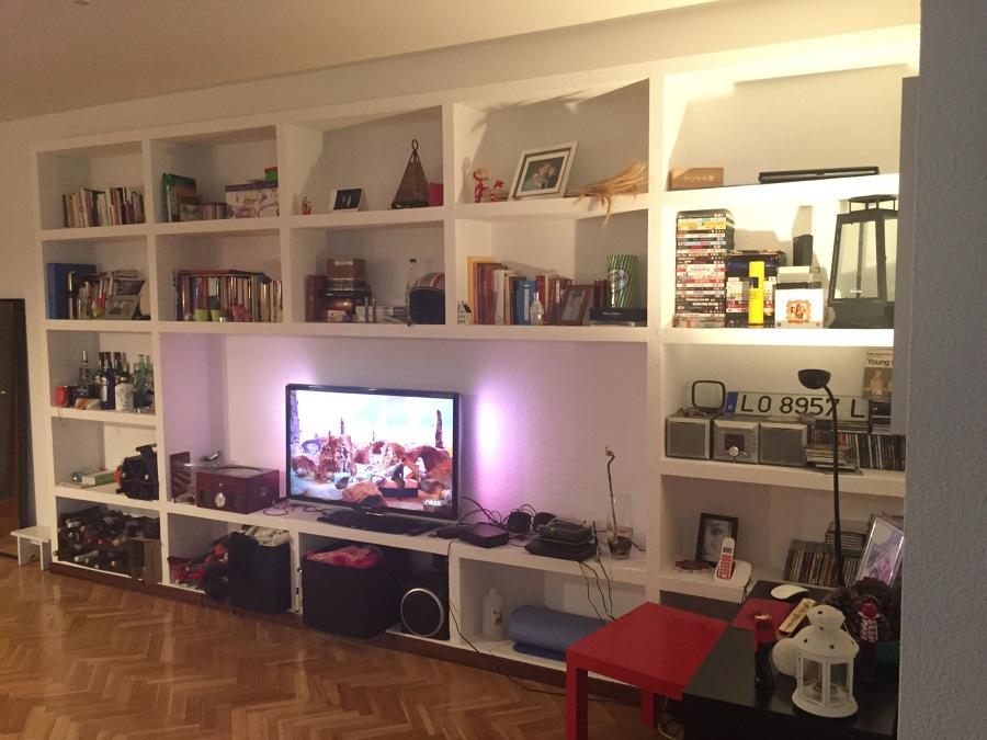 Mueble de escayola en logro o ideas yeseros - Baldas de escayola ...
