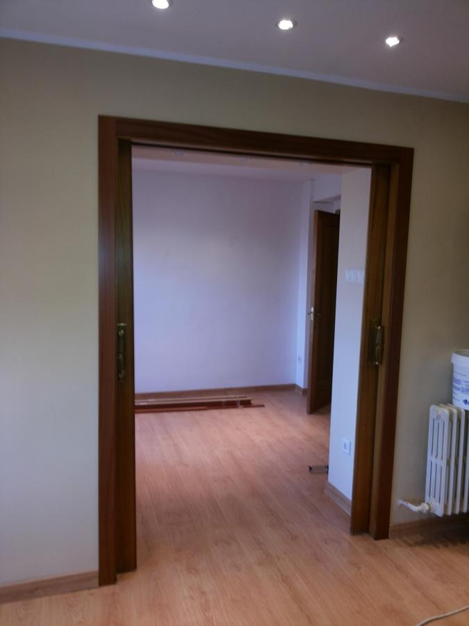 jambas de acceso a otra habitacin con puertas correderas